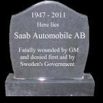 Saab ล้มละลาย