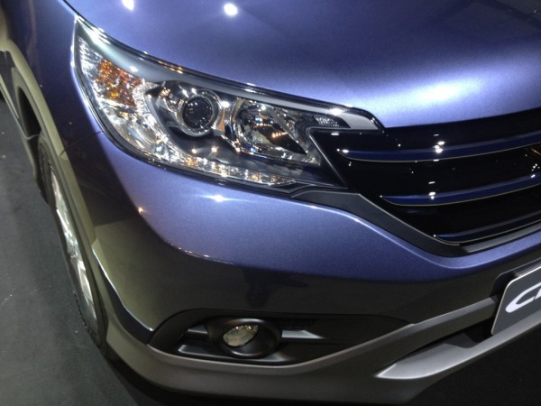 All new CRV 2012