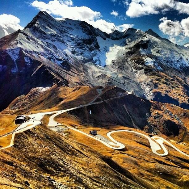 The most beautiful scenic route in Austria...Grossglockner alpine road